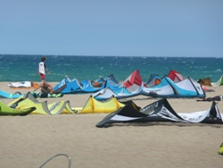 Learn to Kitesurf Video Golf De Rosas Spain